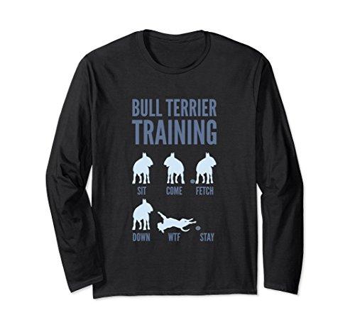 Unisex English Bull Terrier Shirt Large Black