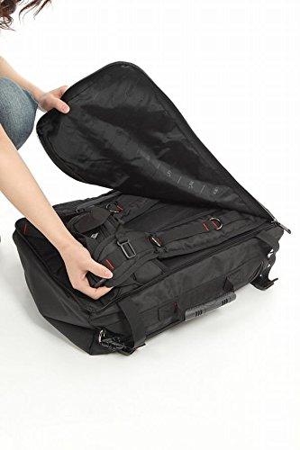0d1e77cbb2de World Travel Equipment 3WAYバックパック 四角いからとにかくたくさん入る大容量 男女兼用/スクエアリュック/旅行出張用  (XL, B01DE575CS X-Large グレー グレー ...