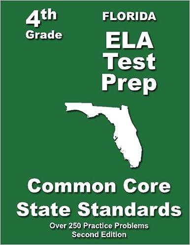Florida 4th Grade ELA Test Prep: Common Core Learning Standard ...