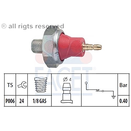Facet - Engine Oil Pressure Switch - 7.0015 (2004 Honda Element Rocker Arm Oil Pressure Switch)