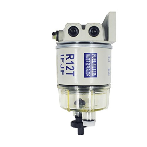 iFJF New Automotive Parts R12T for Fuel Filter/Water Separator 120AT NPT ZG1/4-19-Complete Combo