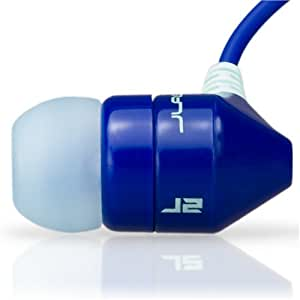 JBuds J2 Premium Hi-FI Noise Isolating Earbuds Style Headphones (Boqari Blue) (Discontinued by Manufacturer)