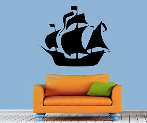 Barco Pirata Pegatinas de Pared para Habitaciones de niños de ...