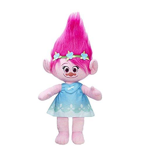 10'' DreamWorks Movie Trolls Plush Doll Toys Poppy Branch Hug 'N Kids Gift by Plush Doll Toys