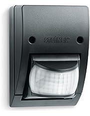 Steinel Infrarood bewegingsmelder IS 2160 zwart, 160° sensor draaibaar, max. 12 m, schemeringssensor, IP54, 600 W