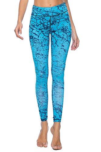 c698b31979 Souteam Women s Workout Leggings High Waist Stretch Yoga Pants ...