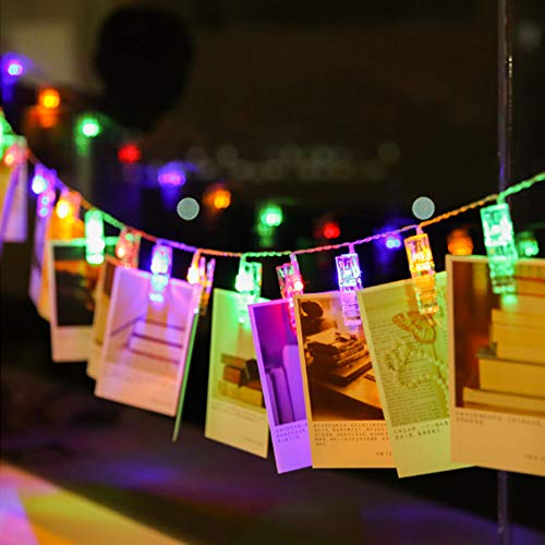Photo Clips String Lights 16.4FT 50 LED Twinkle