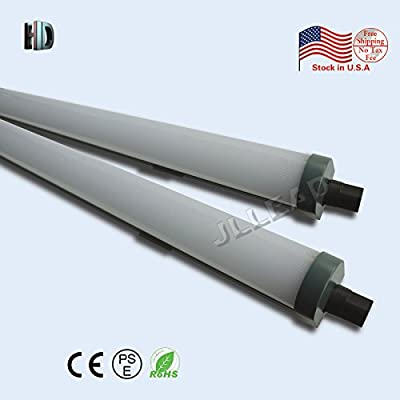 1PACK led Tri-proof light 5ft 72W with 6500K Surface Integrated Tubes Explosion led AC100-277V LED Batten Tube Light