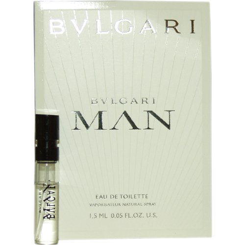 Bvlgari Man by Bvlgari for Men - 1.5 ml EDT Spray Vial (1.5 Ml Edt)