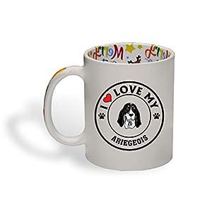 Ceramic Christmas Coffee Mug I Love My Ariegeois Dog Style A Funny Tea Cup 15