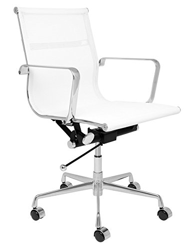(Laura Davidson SOHO Mesh Management Chair (White) )
