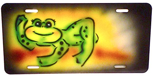 Personalized Airbrushed License Plates - 4
