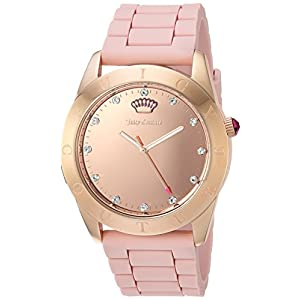Juicy Couture 1901546 22mm Couture Connect Silicone Rose Gold Watch Strap