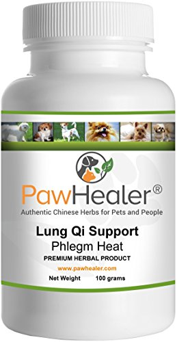 Cough Remedy for Dogs- Lung Qi Support Herbal Formula: Fo...