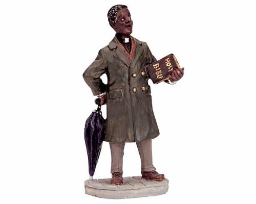 "Lemax Christmas Village Collection ""Preacher"" Figurine #12484"