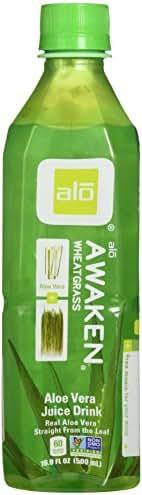 Alo Bev Aloe Awaken Whtgrss, 16.9 Ounce (pack Of 12)