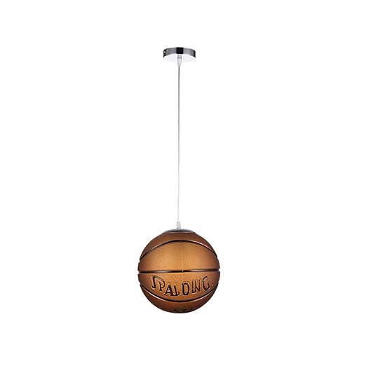 Luces colgantes creativas modernas de baloncesto Luces colgantes ...