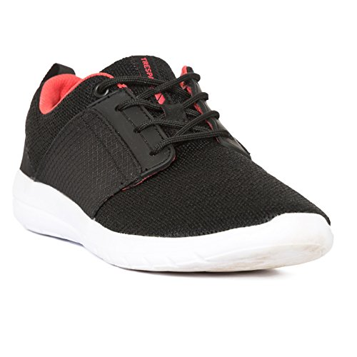 Trespass Mujeres / Damas Ravina Sneakers Negro