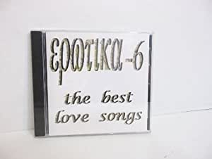 EPOTIKA-6 the best love songs CD
