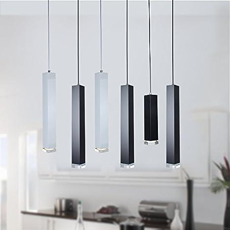 Lx.AZ.Kx E27 - Lámpara de techo con luces colgantes ...