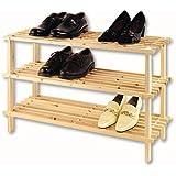 ZHG Étagère à chaussures XL 3 rayons