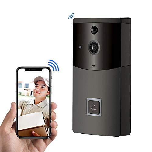Video Doorbell Wireless 720P HD WiFi Smart Door Bells Batter