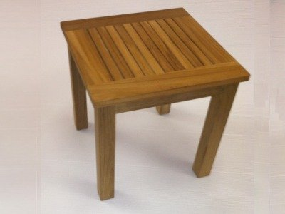 Superb Atlanta Teak Furniture   Teak Side Table   17 U0026quot; ...