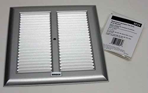Nutone BP24 BROAN Grille & Metal Bath -