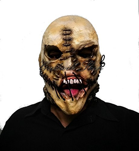 Scarecrow Scary Halloween Latex Mask. (Scarecrow Latex Mask)