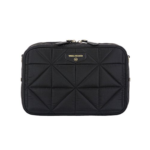 TWELVElittle Diaper Clutch, Black