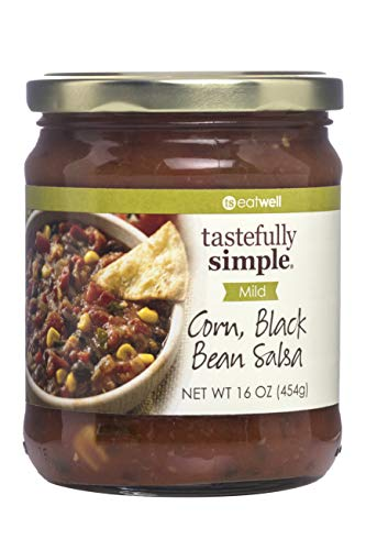 Tastefully Simple Corn, Black Bean Salsa