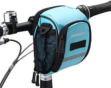 Roswheel? Bolsas para manillar de bicicleta, impermeables, bolsa ...