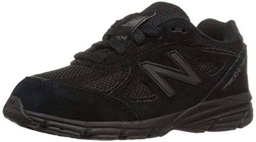 New Balance Boys' KJ990V4 Running Shoe, Black/Blac, 5 Wide US Little - Wide New Brown Shoes