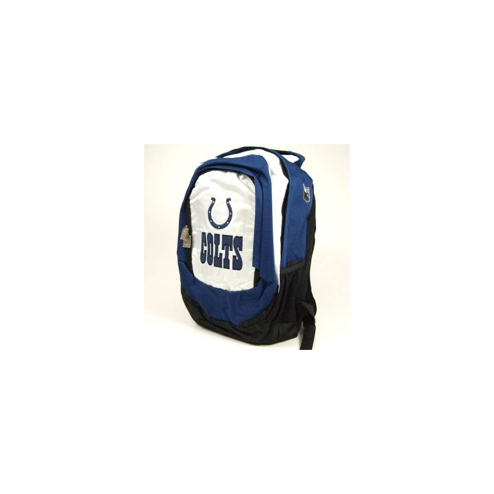 INDIANAPOLIS COLTS OFFICIAL LOGO NFL BACKPACK