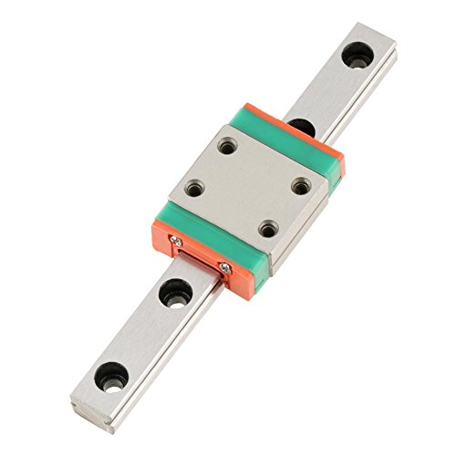 LWL7B Miniature Linear Rail Guide 7mm Width Slide Block (70MM)
