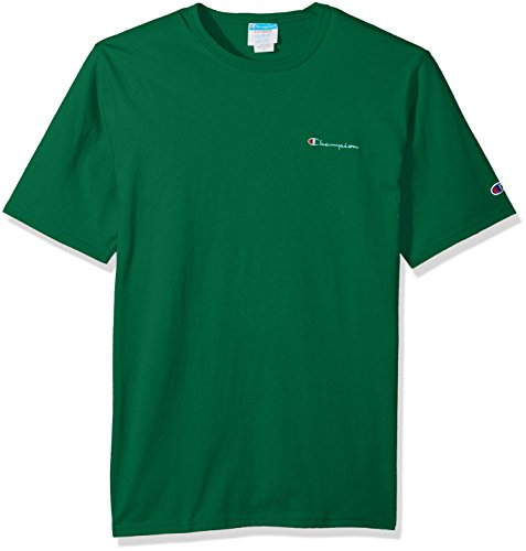 - Champion LIFE Men's Heritage Tee, Kelly Green Script Embroidery, S
