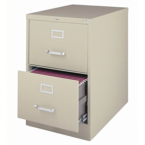 2 Legal Drawer - 2-Drawer Commercial Legal Size File Cabinet Finish: Putty