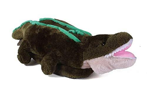 - 9047-1 - Alligator - Small - Happy Feet Animal Slippers