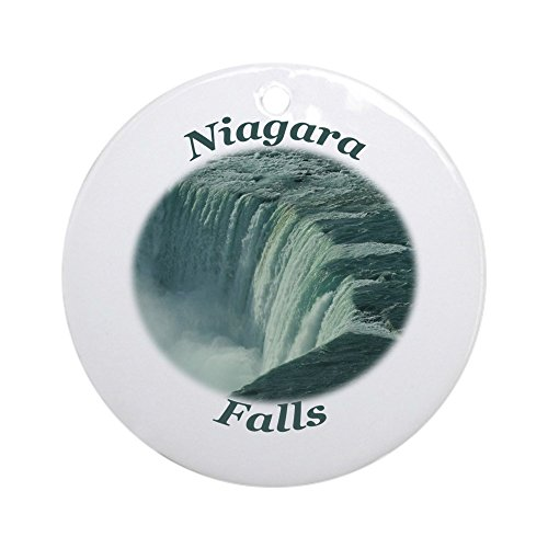 CafePress Niagara Falls NY Ornament (Round) Round Holiday Christmas Ornament