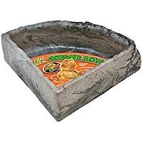Zoo Med Reptile Rock Corner Water Dish, Large