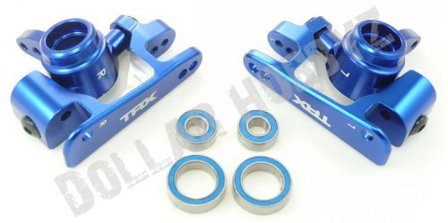 Traxxas 1/10 Slash 4x4 Platinum 6061 T6 ALUMINUM STEERING BLOCKS & - Castor Aluminum Blocks
