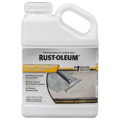 RUST-OLEUM 310984 Gallon Concrete Paint Stripper