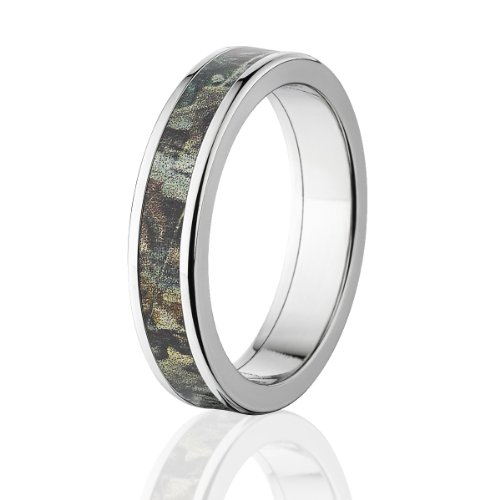 Realtree Advantage Timber Pattern Rings, Comfort Fit Camo Rings