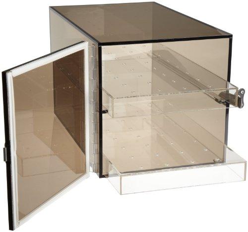 Bel-Art Bronze Acrylic Desiccator Cabinet; 0.36 cu. ft (F42065-0001): Science Lab Desiccator Accessories: Amazon.com: Office Products