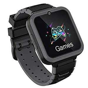 Kids Smartwatch Phone for Boys Girls with HD Touch Screen, Smart Watch for Kids with Games Music Player Two-Way Call SOS…