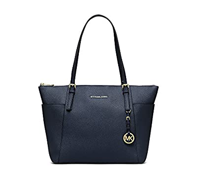 Michael Michael Kors Jet Set Large Leather Tote