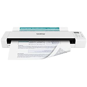 Brother DS920DW Wireless Duplex Mobile Color Page Scanner