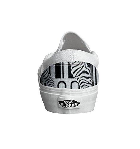 Vans personalizzate U CLASSIC SLIP-ON, Sneaker Unisex Adulto(Prodotto Artigianale) barcode