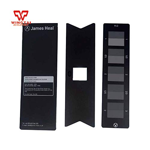 Anncus England James Heal ISO 105 A02 Grey Scale for ASSESSING Change in Colour: Amazon.com: Industrial & Scientific
