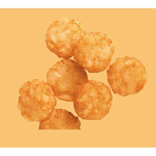 McCain Ore Ida Spud Bites Dime Shaped Tot Fry, 5 Pound -- 6 per case. by McCain (Image #2)
